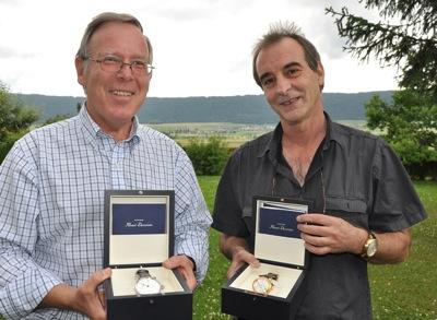 Jean-Dominique Cornu et Jean-Marc Breguet © Nicolas Paratte